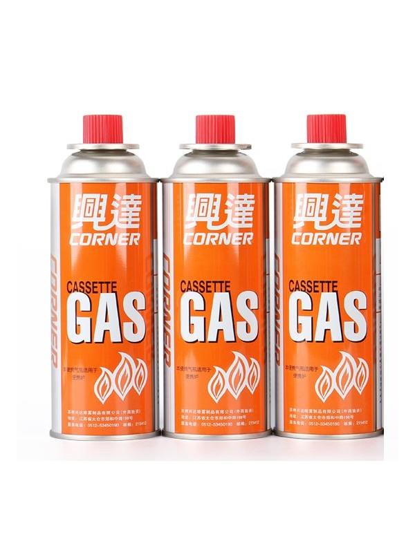 Cassette gas