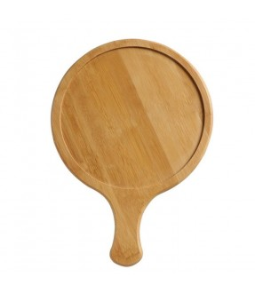 "14"" Wooden Pizza Plate"