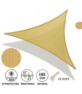 13' x 13' x 13' Sun Shade Sail Triangle