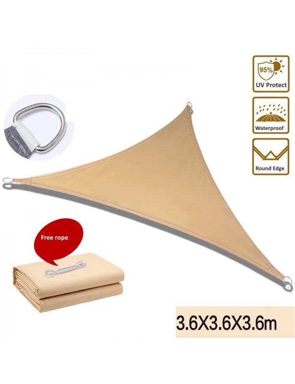 12'x 12'x 12'三角形太陽傘