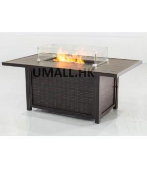 UHome燃氣火爐梳化(只有火爐桌子)
