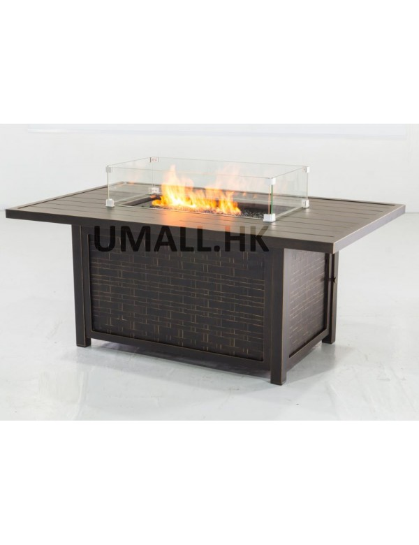 UHome Gas Firetable Sofa Set - Fire Table