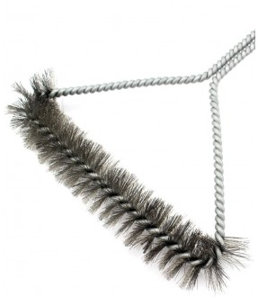 12-Inch 3-Sided Grill Brush