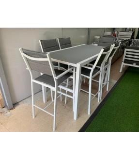 UHome Bar set table with 6 chair
