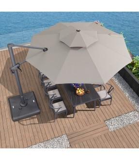 4米Sunbrella布圓形太陽傘