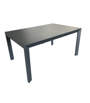 Aluminum extension table with triangle legs