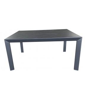 帶三角腳的鋁製伸縮餐桌