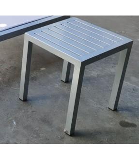 Aluminum side table