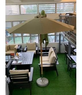 豪華中桿太陽傘