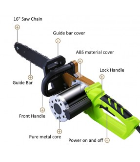 Battery-operated Chainsaw