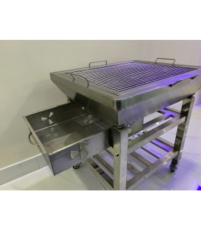 stainless steel square shape BBQ Grill
