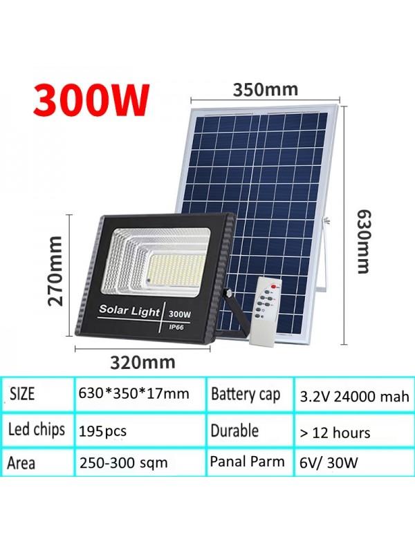 300W Solar Led Single Light Panel