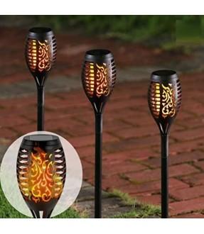 戶外太陽能火焰燈