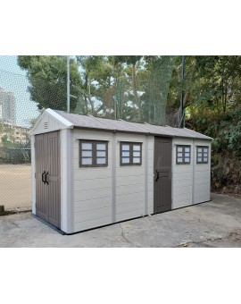 UHOME Outdoor Shed & Quadruple Room Shed G04+1