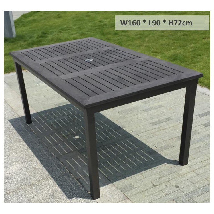 Matte Grey Polywood Table