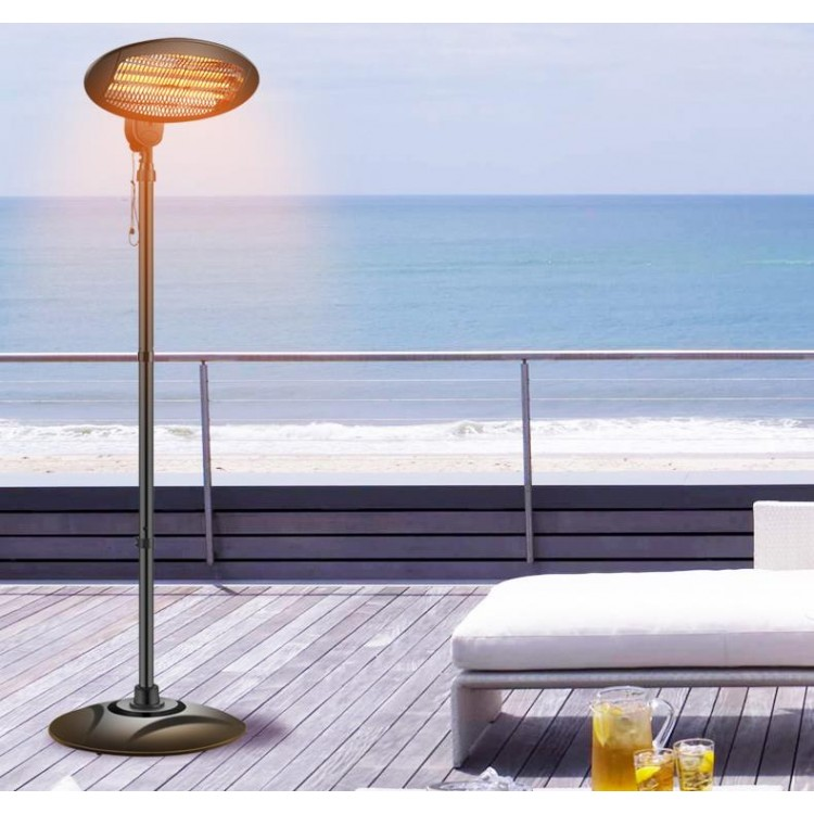 Garden Outdoor Quartz 2KW Patio Heater