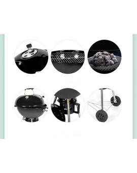 18.5 inches 3 Legs Kettle Charcoal Grill
