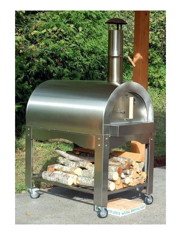 不銹鋼柴火意大利薄餅燒烤爐