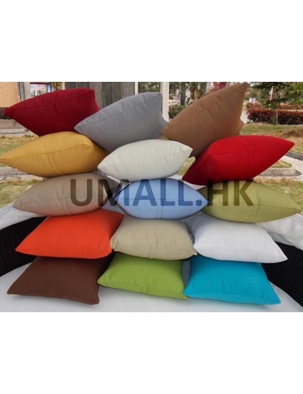 Waterproof throw pillows