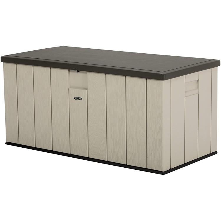 LIFETIME 60254 OUTDOOR STORAGE DECK BOX (150 GALLON)