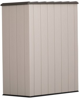 LIFETIME VERTICAL STORAGE SHED (53 CUBIC FEET)