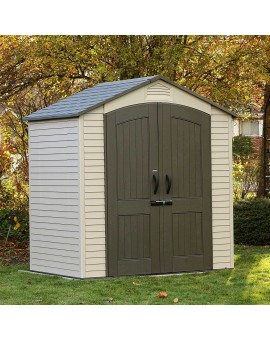 LIFETIME 60057 7 FT. X 4.5 FT. OUTDOOR STORAGE SHED
