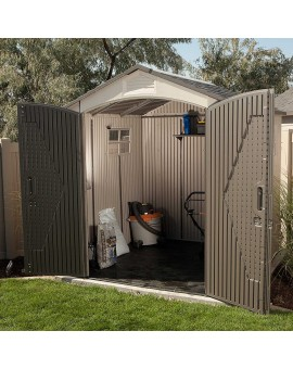 Lifetime 60190 7 x 7ft OUTDOOR STORAGE SHED