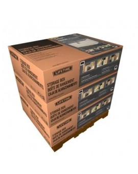 LIFETIME 60170 HORIZONTAL STORAGE SHED (75 CUBIC FEET)