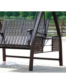 Aluminum Solar Garden Swing Chair