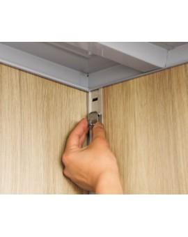 Inaba Storage Stocker KMW-179E Full Shelf