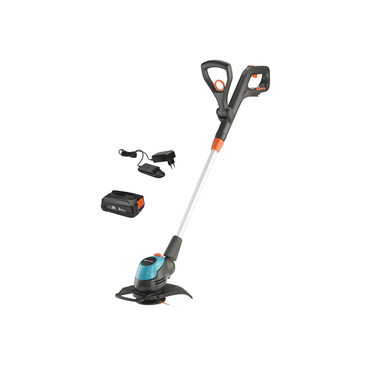 Battery Trimmer EasyCut 23/18V P4A Ready-To-Use Set