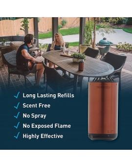 Patio Shield Mosquito Repellent Metal Edition
