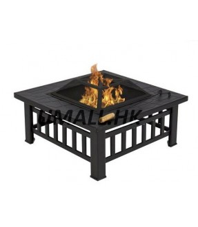 Multiple BBQ fire pit