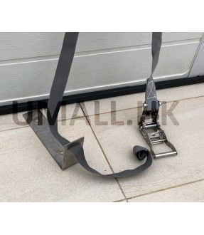 L shape floor mount stainless steel made for 2