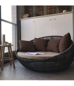 Rattan Cozy daybed