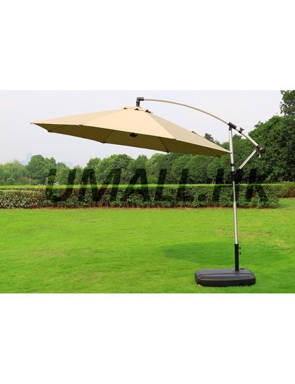 3米鋁製圓形遮陽傘