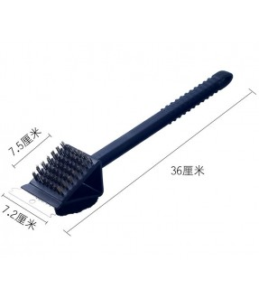Stainless Steel Brush and cotton pad