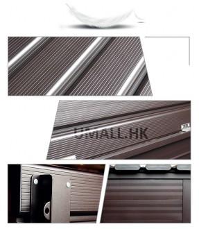 鋁製戶外儲物椅 - B120