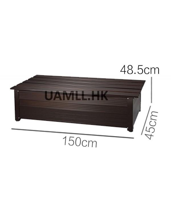 B150 - Outdoor storage bench