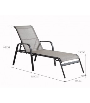鋁合金太陽椅
