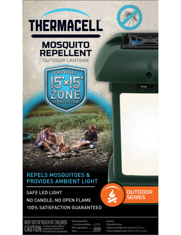 Thermacell Outdoor Mosquito Repellent Patio Shield Lantern