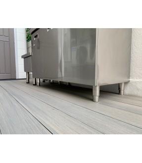 Stainless steel 3-Door Sink