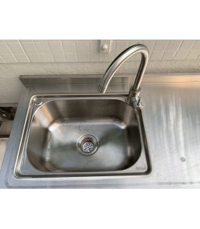 Stainless steel 3-Door Sink