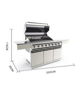 Swiss Grill八爐頭戶外燃氣燒烤爐