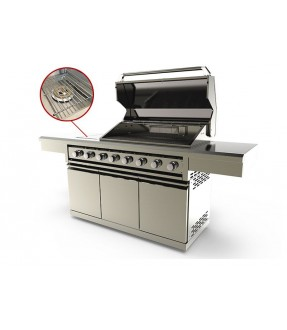 Swiss Grill ultimate 8 burner BBQ grill modular