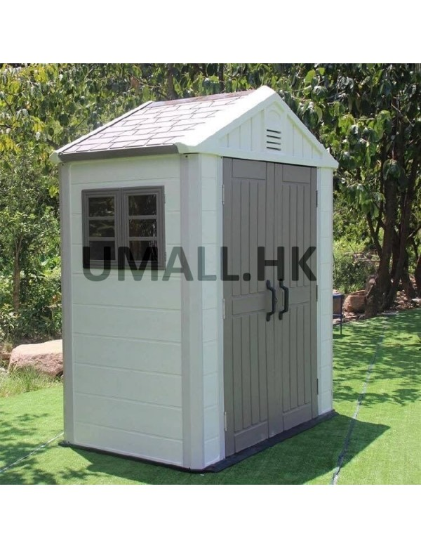 Maintenance Free Garden Storage Shed That Combines Northern European Style  With The Durability Of Resin. This Shed Offers The Perfect Storage Solution  For ...