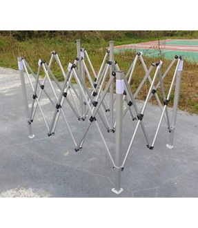 Foldable Aluminum Gazebo (transparent cover)