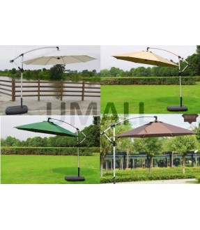 2.7m Offset Patio Umbrella